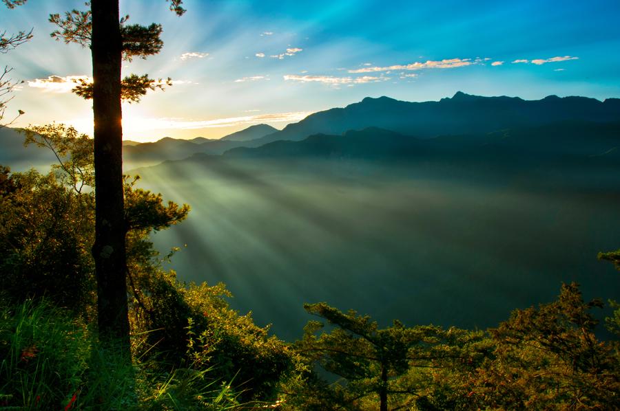 Cestovanie po Taiwane Alishan