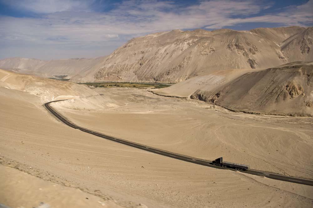 Cestovanie po Čile nikde nikoho