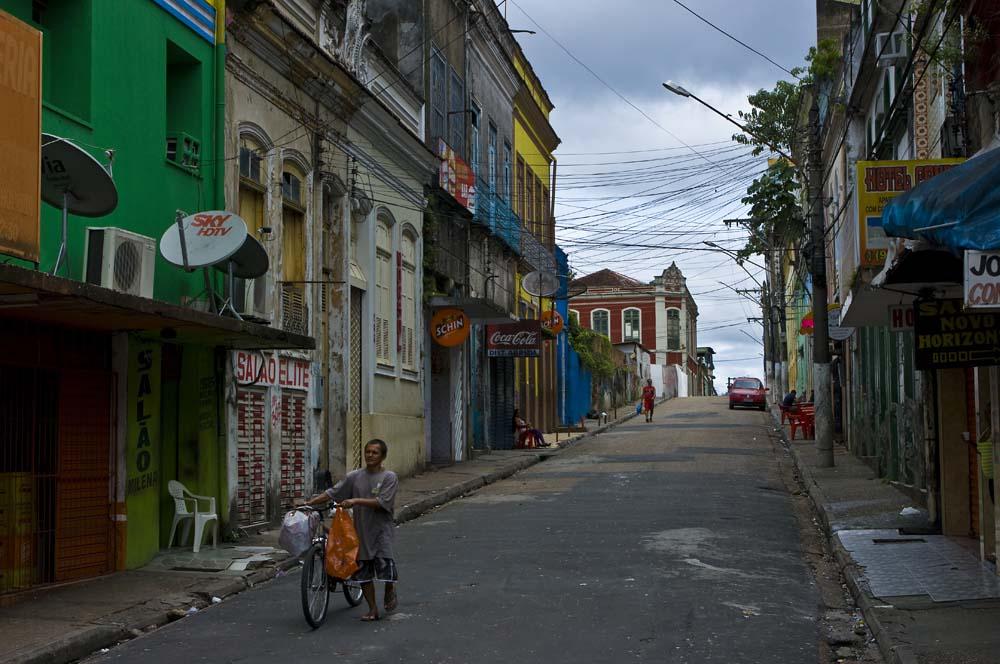 Cestovanie po Brazílii samota