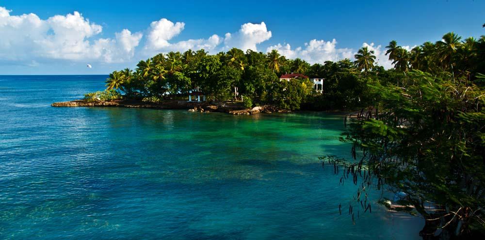 Cestovanie po Dominikánskej Republike Atlantický oceán