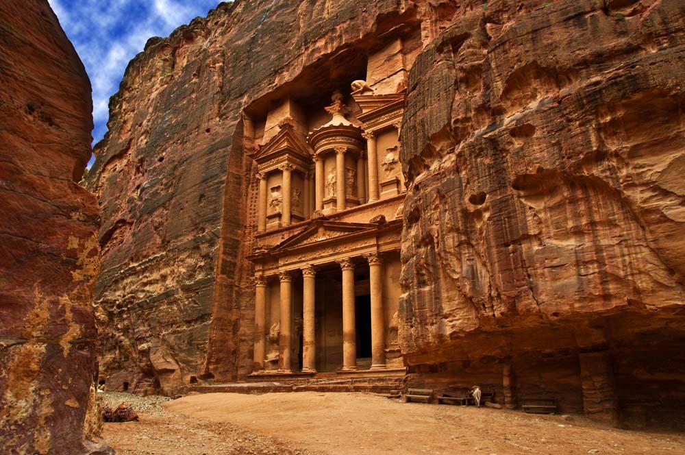 Cestovanie po Jordánsku Petra
