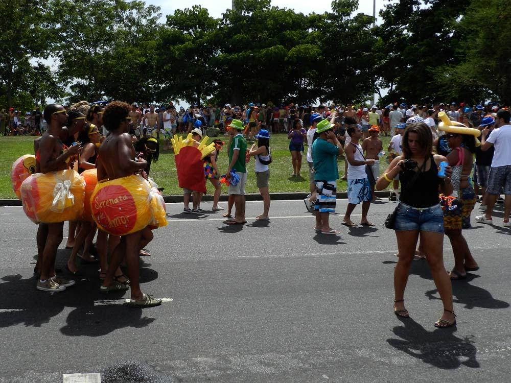 Cestovanie po Brazílii karneval