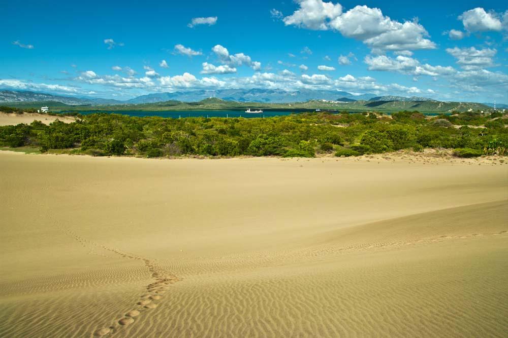 Cestovanie po Dominikánskej Republike duny
