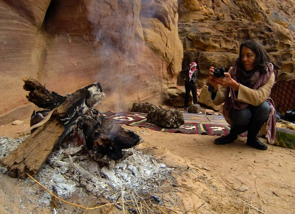 Cestovanie po Jordánsku Wadi Rum kuchyňa
