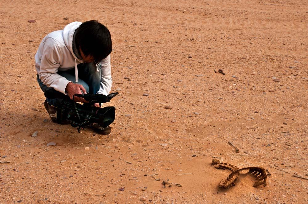Cestovanie po Jordánsku Wadi Rum pracujeme