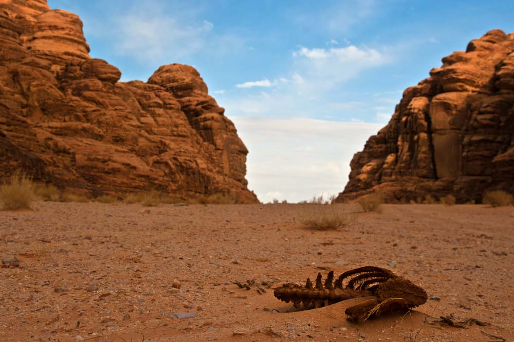 Cestovanie po Jordánsku Wadi Rum púšť