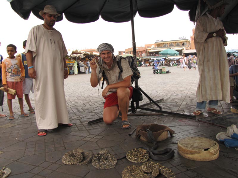 Cestovanie po Maroku Marakeš