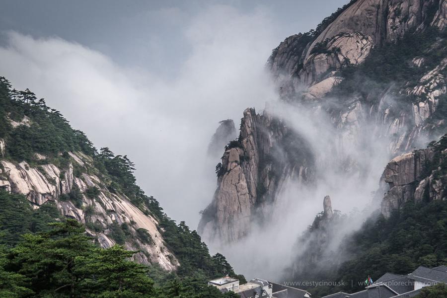 Huangshan Žlté Hory