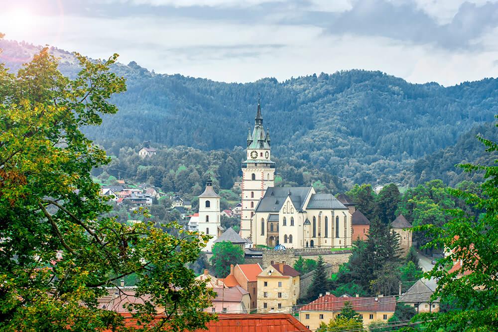 Výlety po Slovensku Kremnica