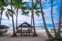 Bantayan výhľad z domčeka na pláži