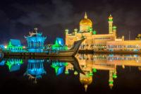 Brunej v noci