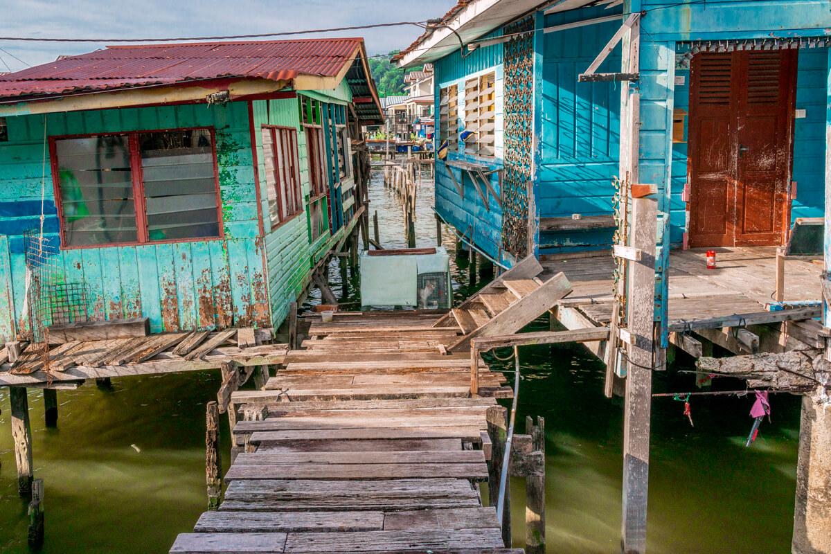 Brunej domce na vode