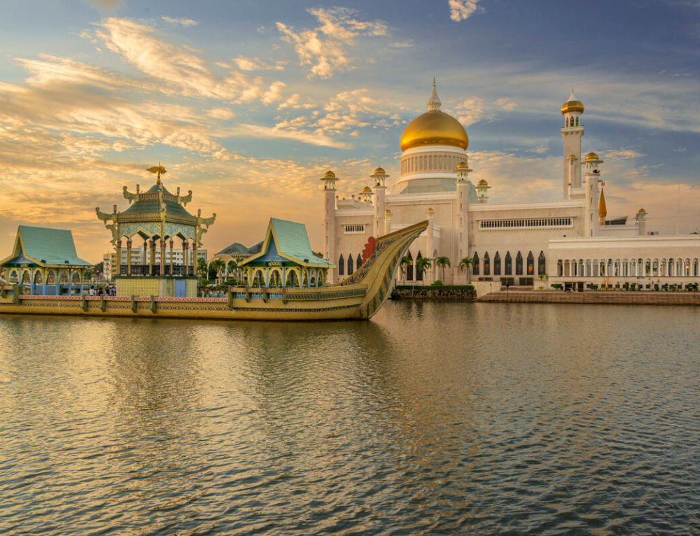 Brunej, krajina zo zlata