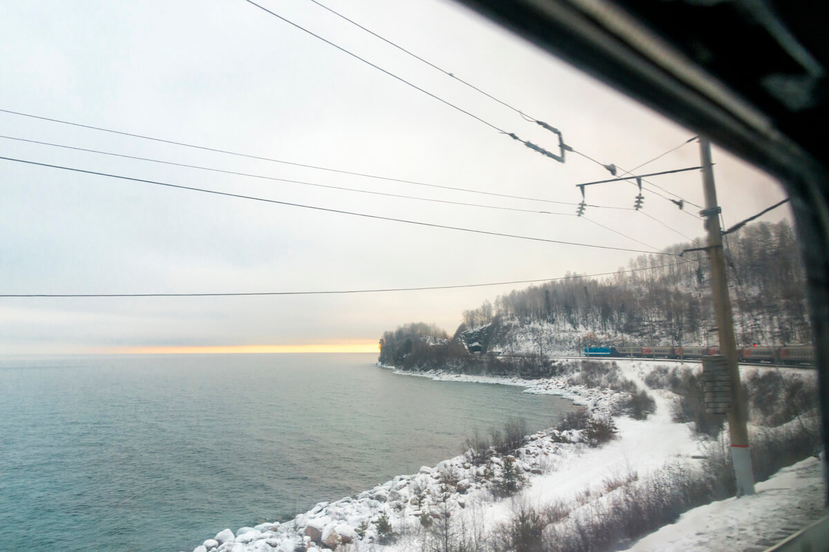 Transsibírska magistrála zimná trasa
