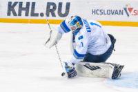 Slovan Bratislava KHL brankár Astany