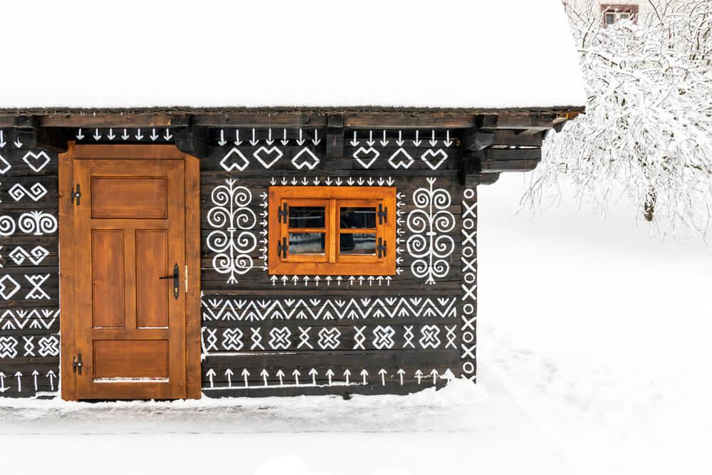 December na Slovensku Cicmany