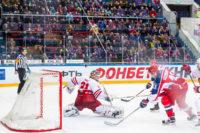 CSKA Moskva strela na bránu