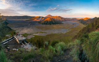 Mt Bromo ranná panoráma