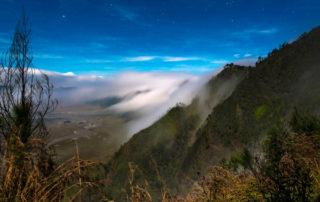 Mt Bromo oblaky
