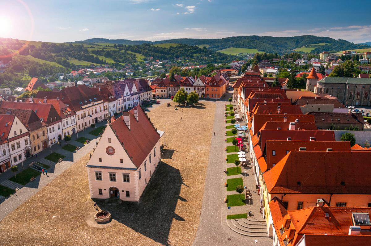 Zaujímavé miesta na Slovensku Bardejov