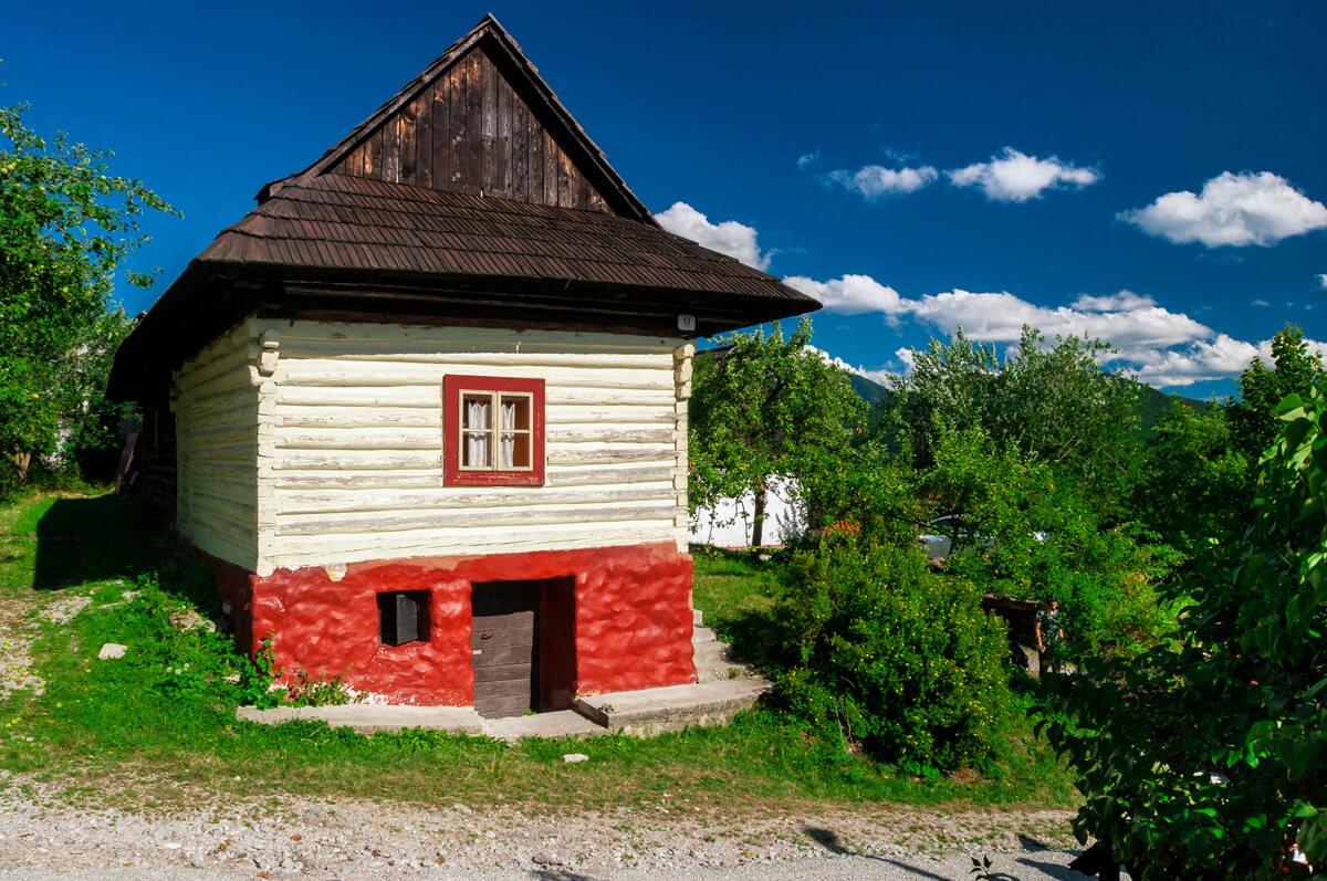 Zaujímavé miesta na Slovensku Vlkolínec