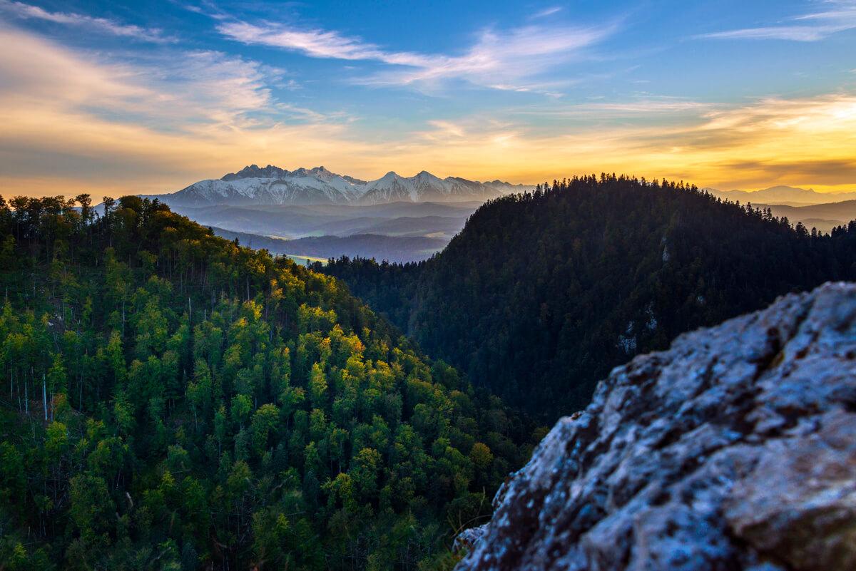 Vysoké Tatry podvečer