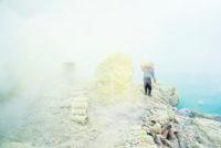 Mount Ijen jazero