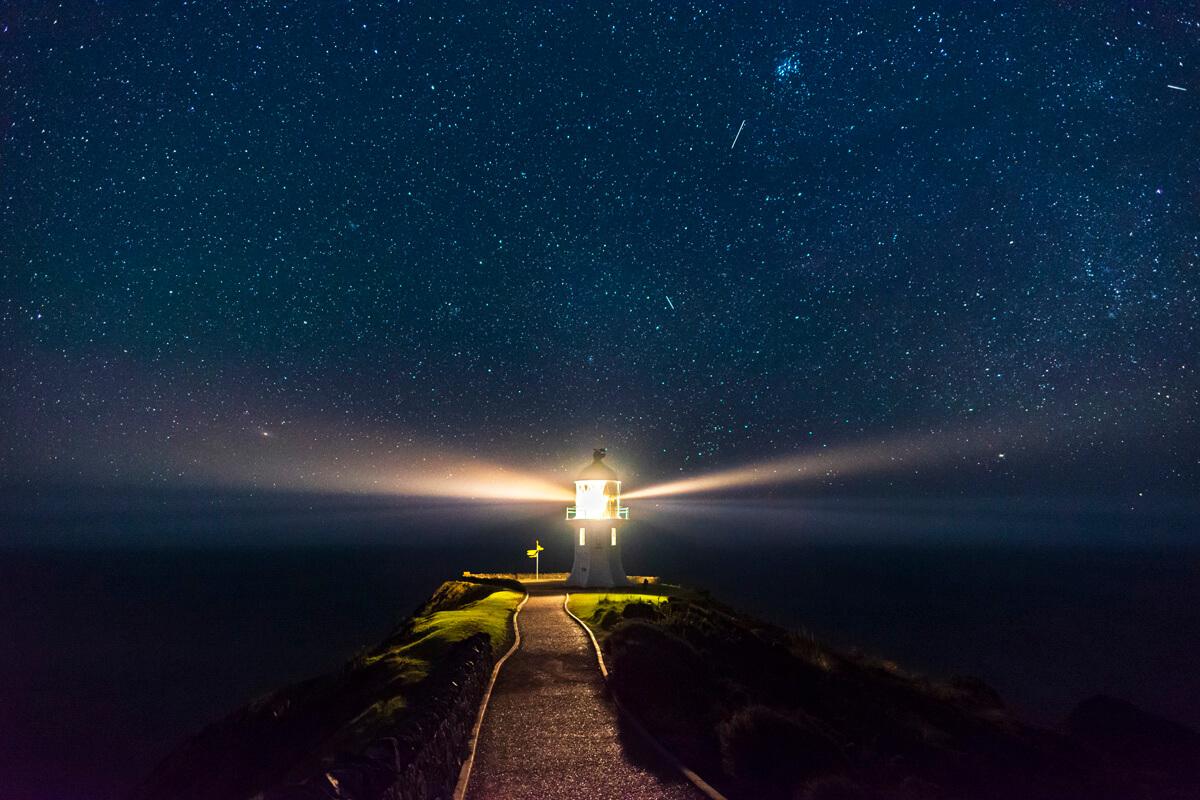 Nový Zéland Cape Reinga