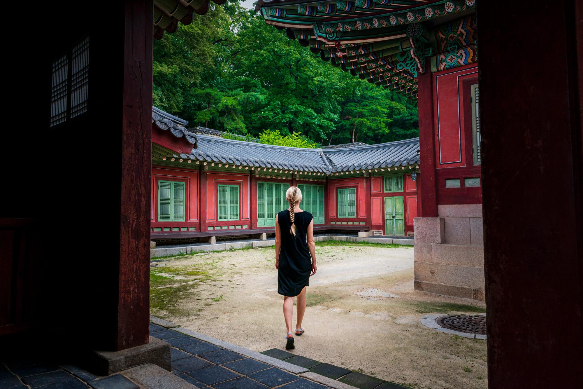 Južná Kórea v paláci