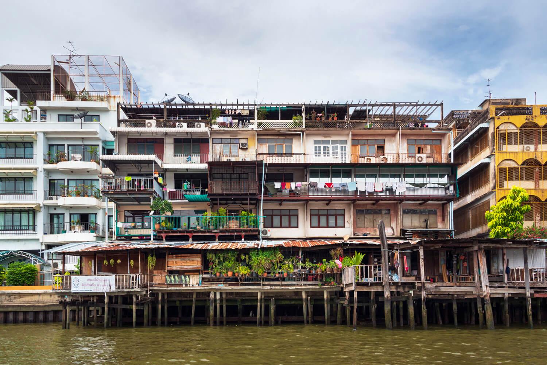 Bangkok a život na rieke