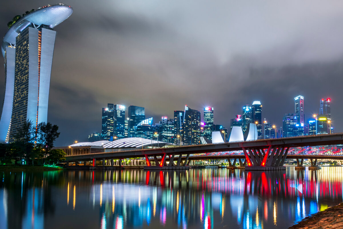Večerný Singapur