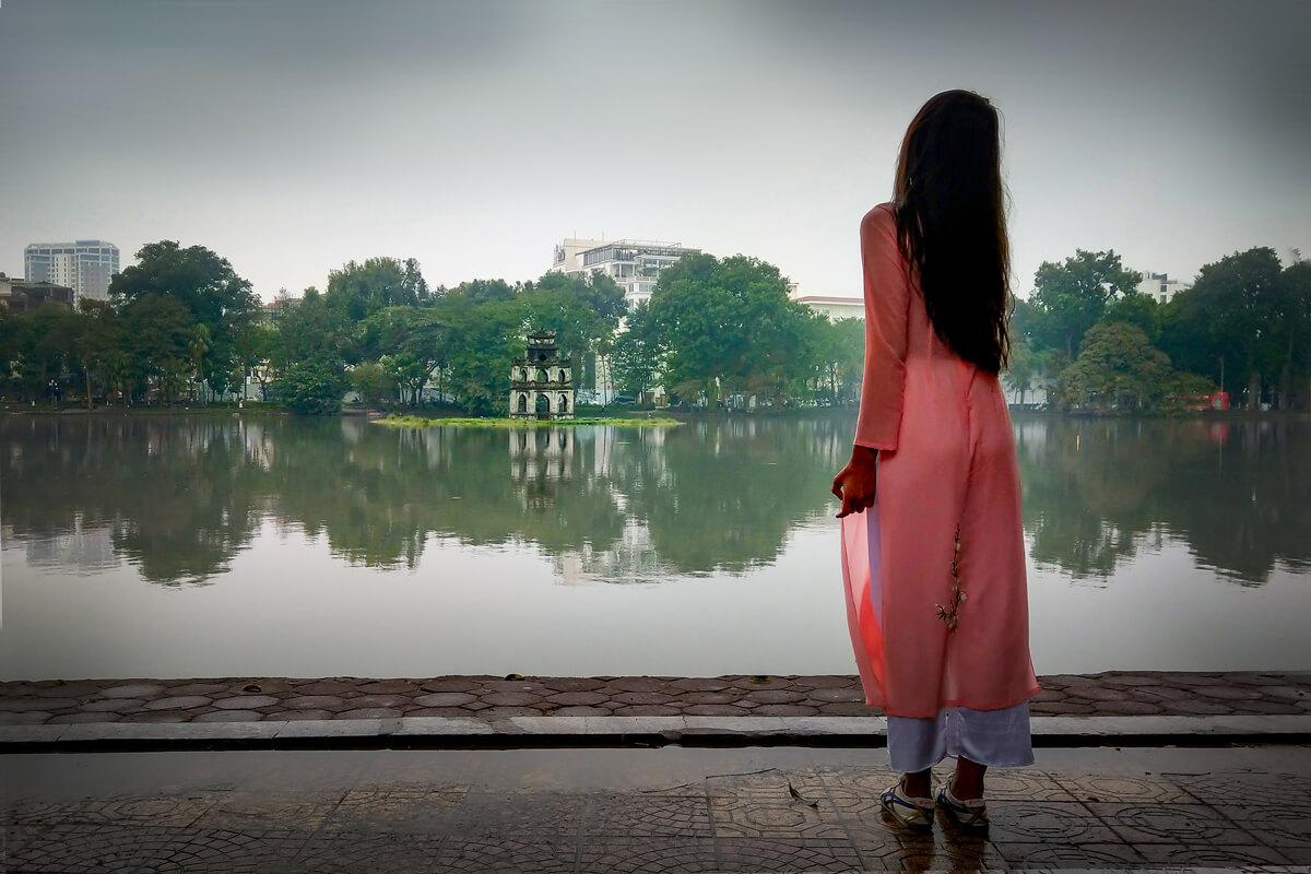 Hanoj a jeho najznámejšie jazero