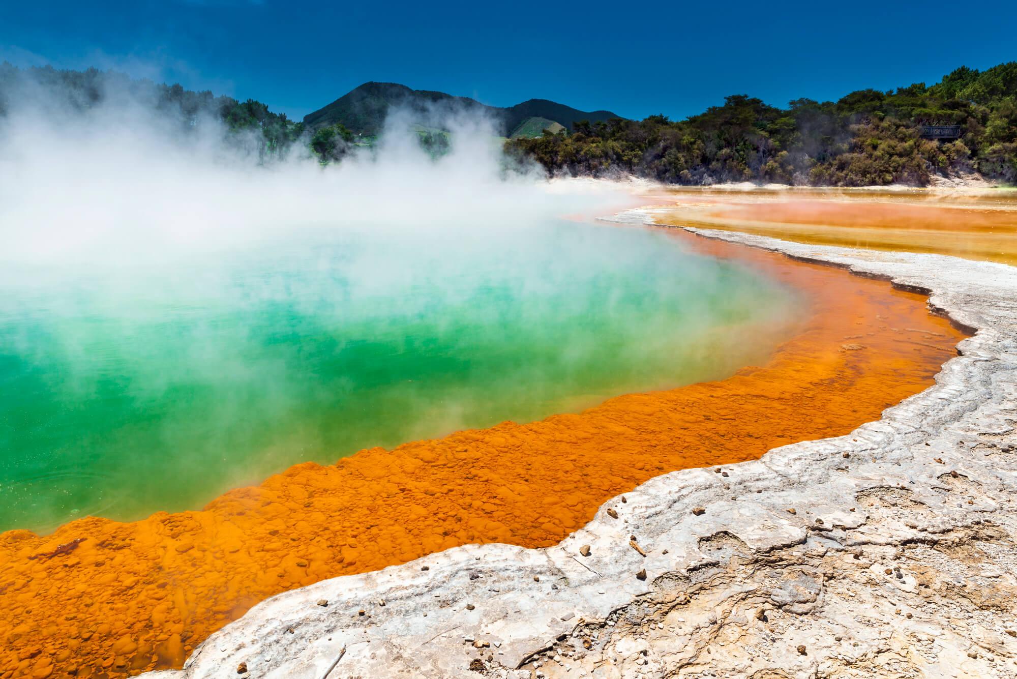Nový Zéland Champagne pool